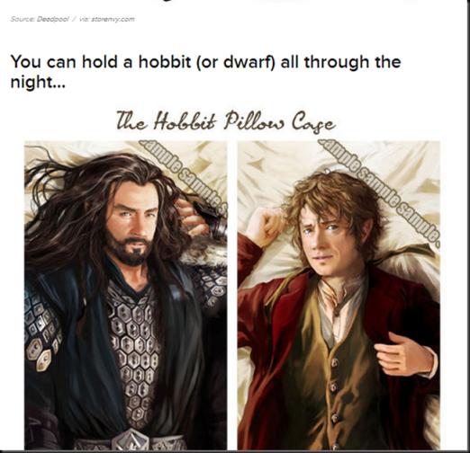 hold a hobbit