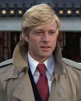 Robert Redford as Hubble Gardiner in The Way We Were.