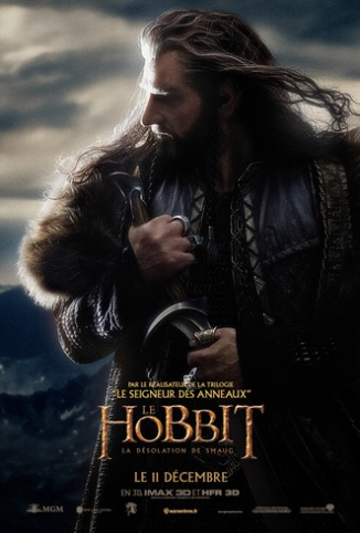 From France- New Desolation of Smaug Thorin Poster