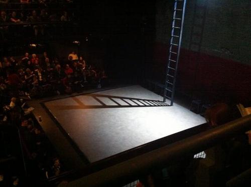 Set for Coriolanus in the Donmar Warehouse Source