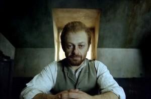 Andy Serkis as Van Gogh in Simon Schama's Power Of Art