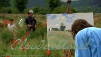 Monet painting Wild Poppies, Near Argenteuil