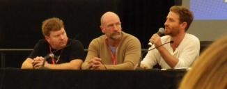 Stephen Hunter, Graham McTavish, Dean O'Gorman   Supanova Melbourne April, 2013