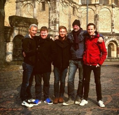 Jed, Stephen, Dean, Graham and Adam in Bonn, Germany  March, 2013
