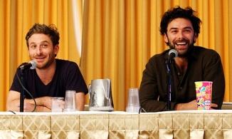 Dean and Aidan Boston Comic Con  August, 2012