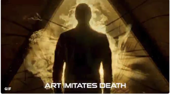 art imitates death