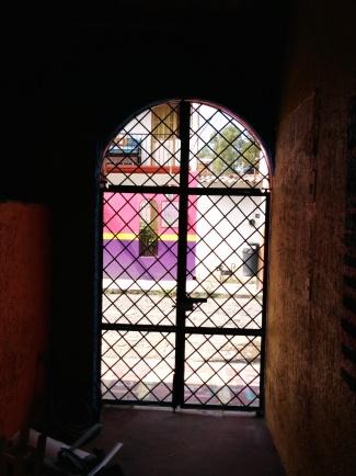 I#! View through my gate