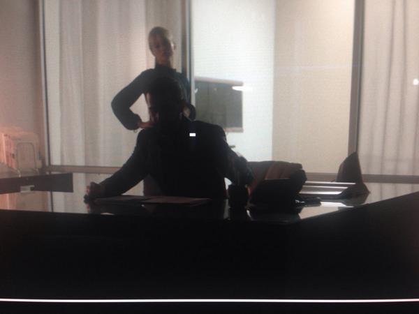 Richard Armitage as Dr. Joel White, Sleepwalker, at his really neat desk. Elliott Lester