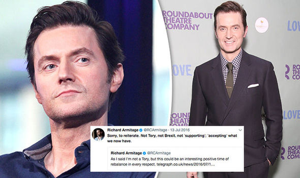 Richard-Armitage-Brexit-Twitter-abuse-Pilgrimage-sick-825080